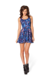 Midnight Owl Skater Dress
