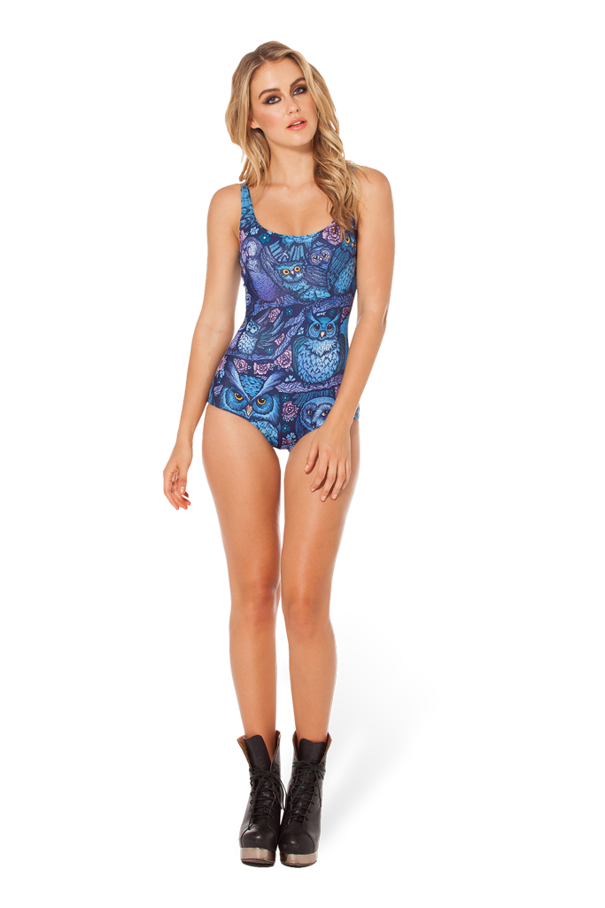 Midnight Owl Swimsuit