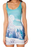 Minty Fresh Polar Bear Dress