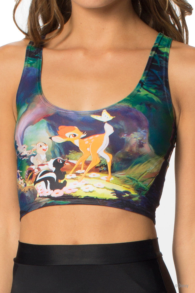 Bambi Reversible Crop - LIMITED