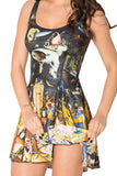 Unearthly Vs Earthly Delights Inside Out Dress