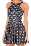 Eye See You Reversible Skater Dress