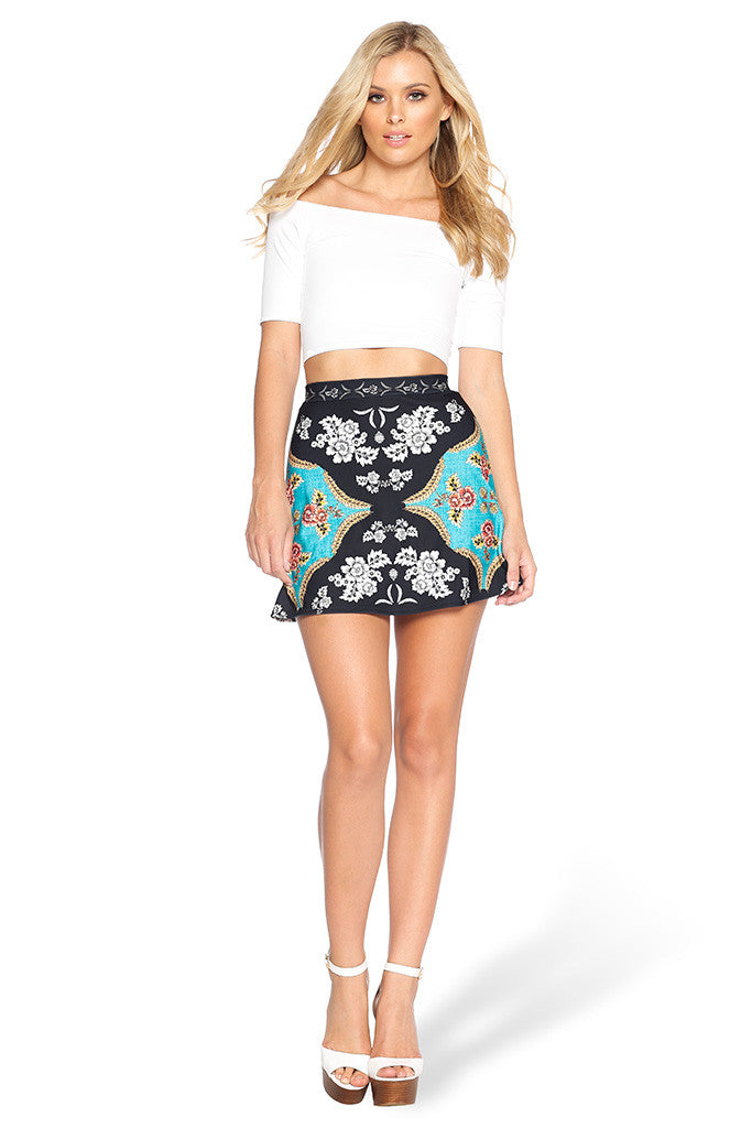 Folk Art A-Line Skirt