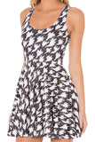Free Spirit Reversible Skater Dress