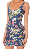 Gorgeous Garden Navy Dress