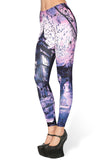 Haunted House Purple MF Leggings