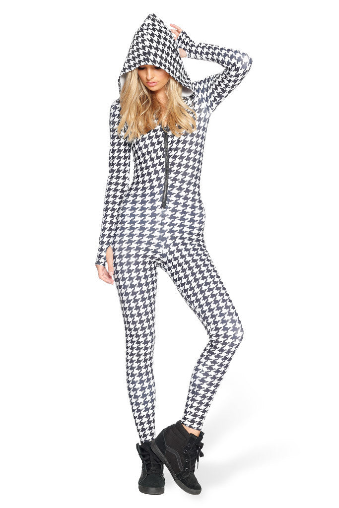 Houndstooth Snuggle Suit