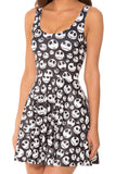 Jack Skellington Scoop Skater Dress