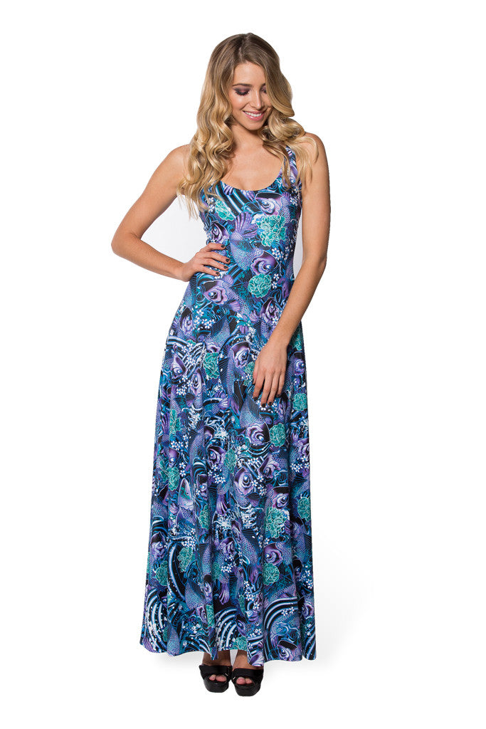 Koi Purple Maxi Dress