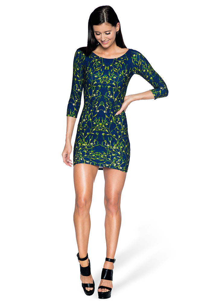 Mistletoe 3/4 Sleeve Toastie Dress