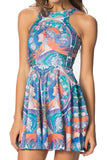 Zodiac Reversible Skater Dress