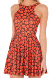 Pumpkin Patch Reversible Skater Dress