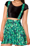 Lucky Pinafore Pocket Skater Skirt