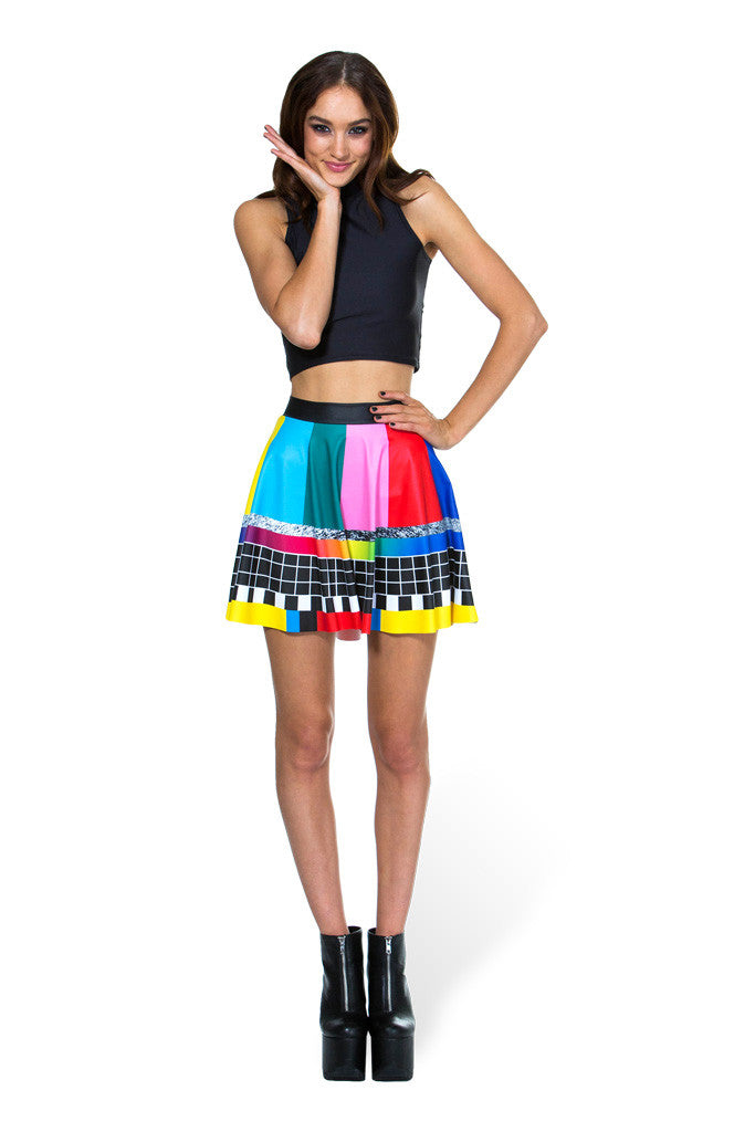 Stay Tuned Skater Skirt