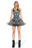 Steam Punk Alloy Reversible Skater Dress