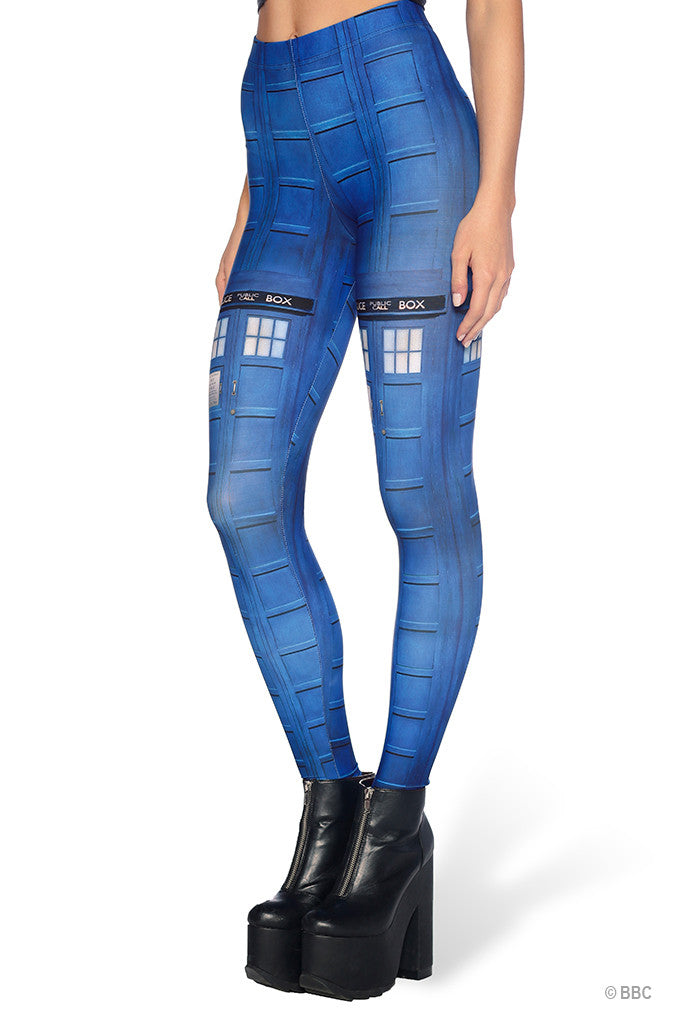 Tardis HWMF Leggings - LIMITED