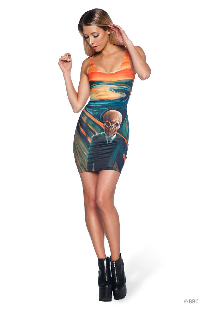 The Silence Scream Dress - LIMITED
