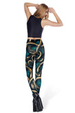 Wallpaper Kraken HWMF Leggings - LIMITED