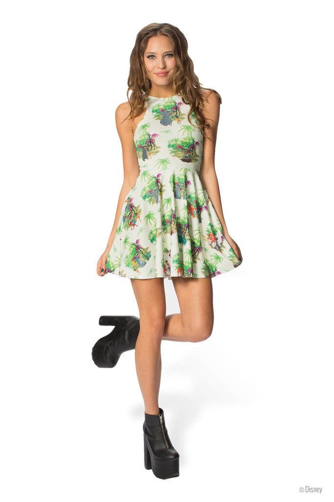 Welcome to the Jungle Book Reversible Skater Dress
