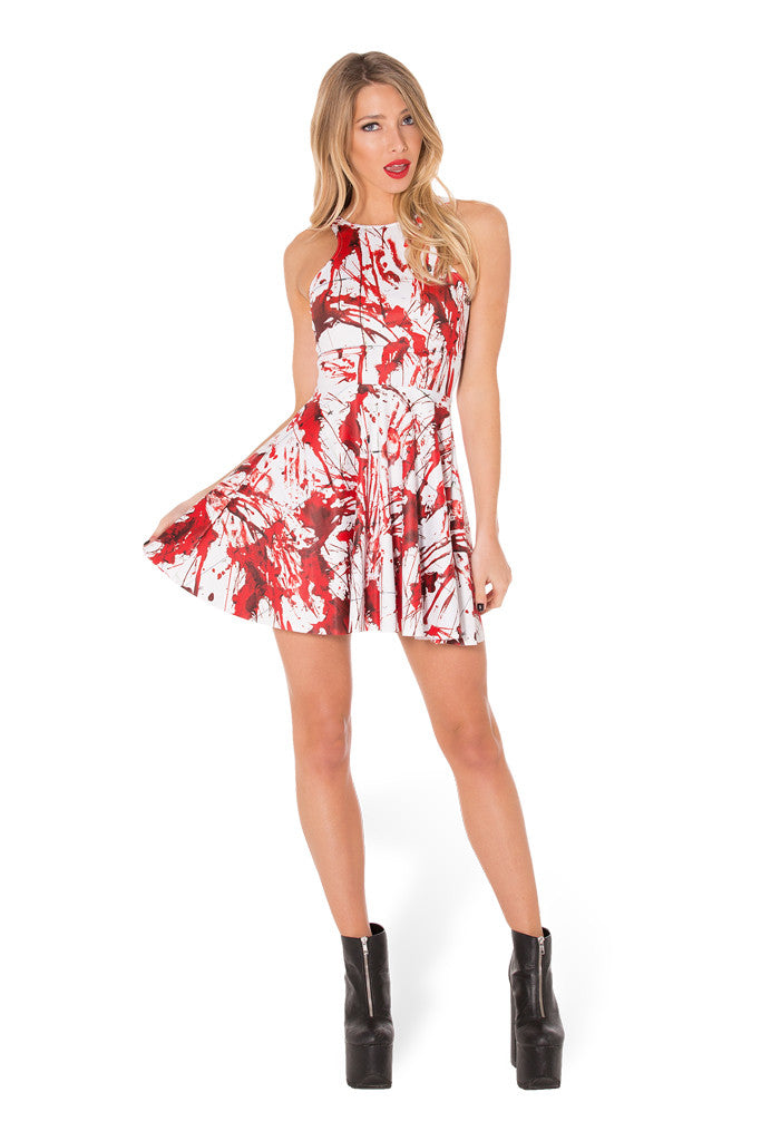 What A Mess Reversible Skater Dress