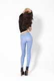 There's No Place Like Home Blue Leggings