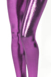 Juicy Fruit Electric Eggplant Leggings