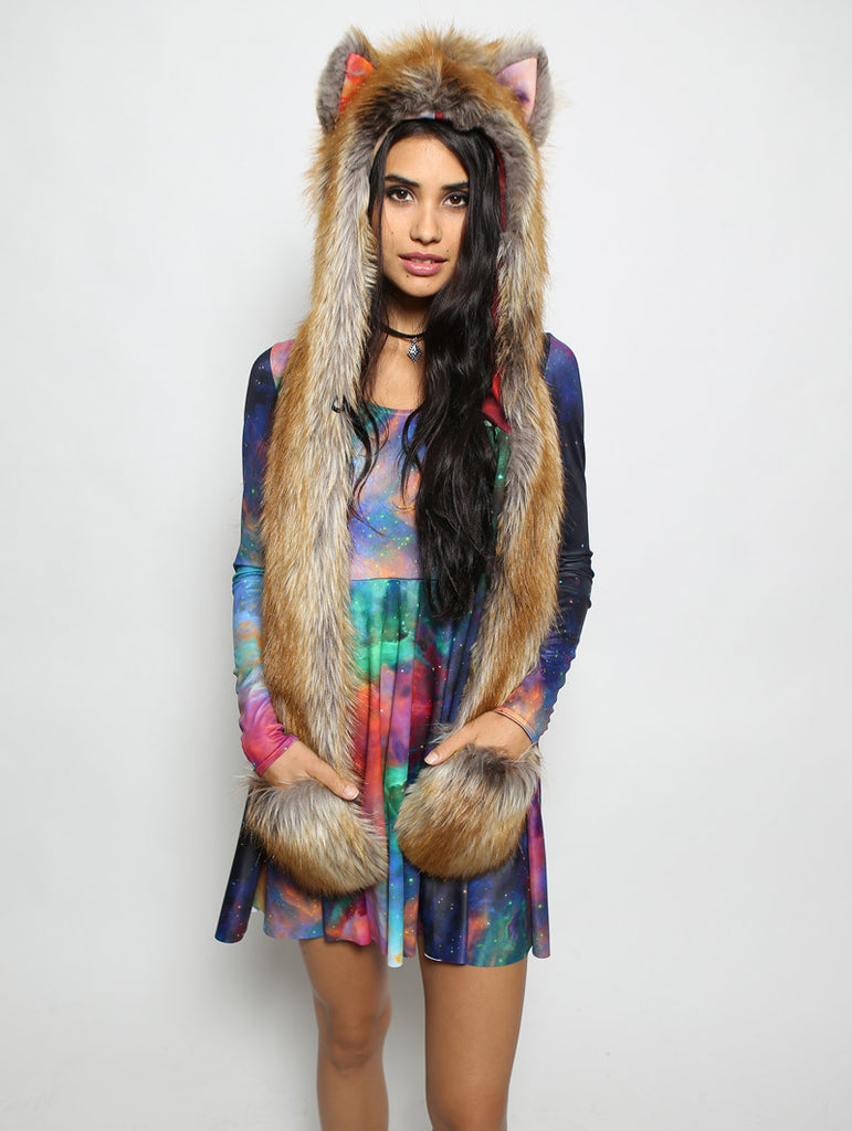 Black Milk Galaxy Rainbow Red Fox