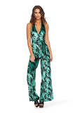Sex Panther Velvet Jumpsuit