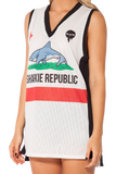 Sharkie Republic White Shooter