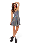 Shattered Crystal Reversible Straps Dress