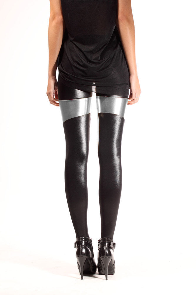 Spartans Silver Leggings