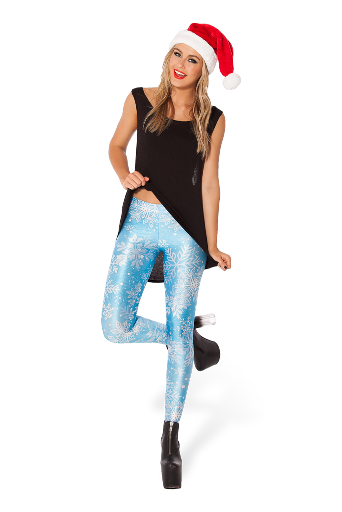 Snow Flake Leggings