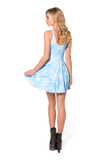 Snowflake Reversible Skater Dress