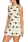 Soy Fishy Cream Play Dress - LIMITED