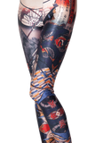 Japanese Fighter Leggings