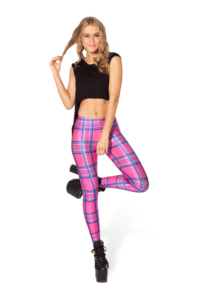 Tartan Barbie Leggings