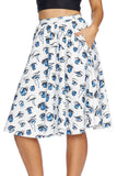 That Manga Look Pocket Midi Skirt - LIMITED