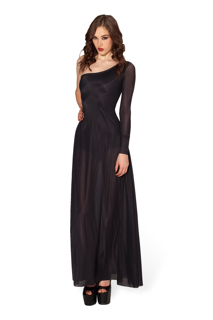 The Morticia Dress