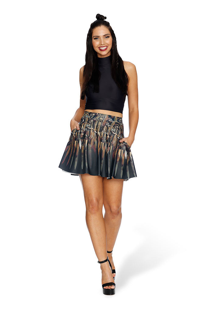 Thrones Pocket Skater Skirt