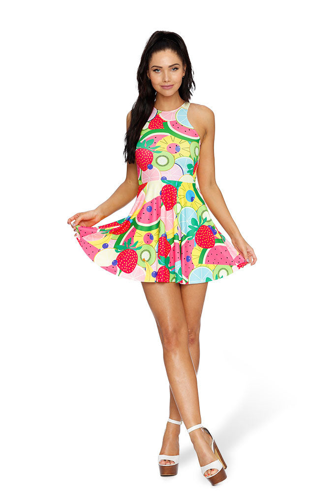 Tutti Frutti Reversible Skater Dress