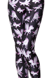 Unicorn Black Leggings