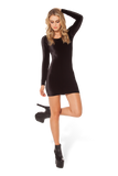 Velvet Long Sleeve Dress 2.0
