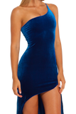 The Villainess Blue Dress
