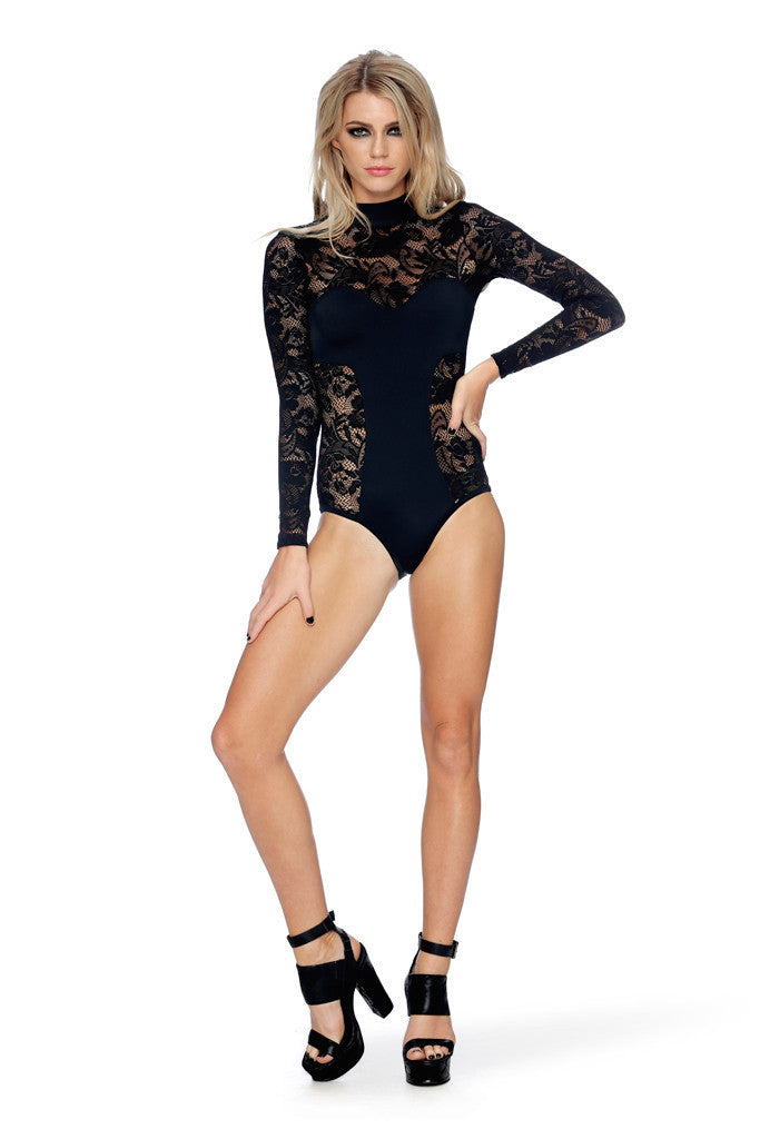Witch Queen Lace Bodysuit