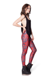 Year of the Snake Red Leggings