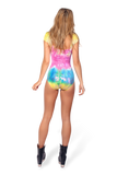 Barbie Spewed on Me Cap Sleeve Bodysuit