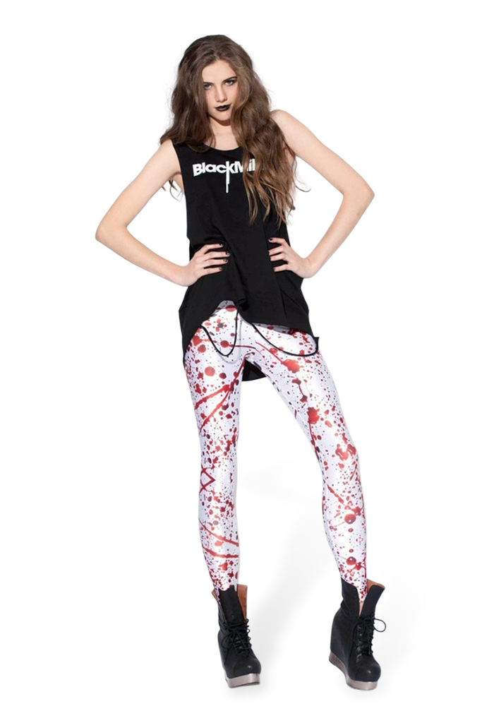 Blood Splatter Big Leggings