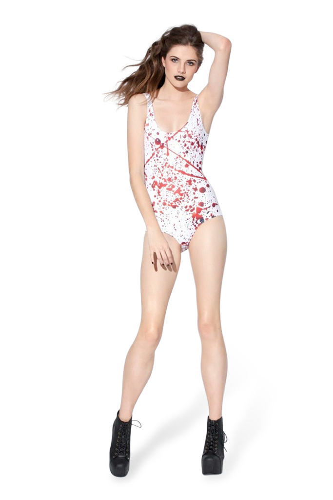 Blood Splatter Big Swimsuit