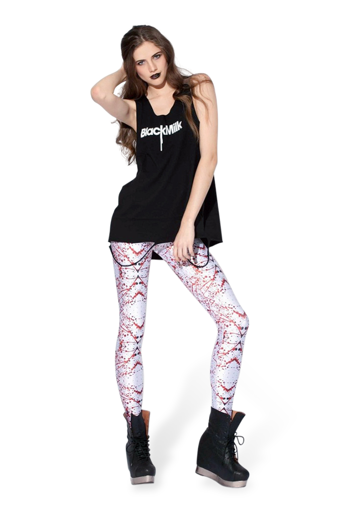 Blood Splatter Small Leggings