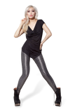 Cabaret Silver Leggings